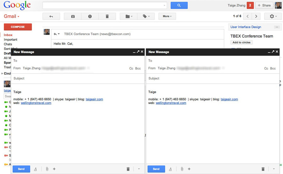 New Gmail 2013 Is Silly